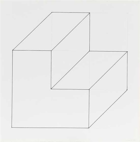 form derived from a cube by sol lewitt