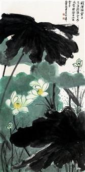 谢稚柳(1910-1997) 皎洁寒玉图 by xie zhiliu