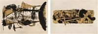 festung blocksberg (portfolio of 20) by neo rauch