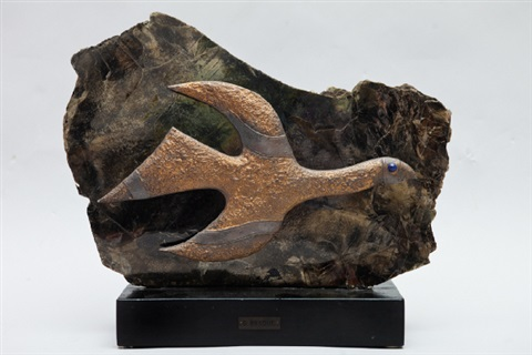 tithonos engraved by henri michel heger by georges braque