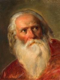 porträt eines bärtigen mannes by friedrich von amerling