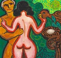 mand og kvinde (male and female) by henry heerup