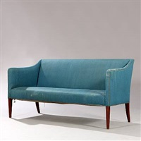 two-seater sofa by frits henningsen