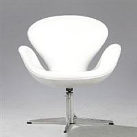 the swan easy chair (model 3320) by arne jacobsen
