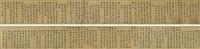 xiyuan poems in cursive script (2 works) by wen zhengming