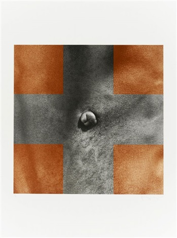 cross from for joseph beuys by robert mapplethorpe