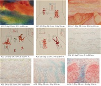 untitled (set of 9) by gu dexin
