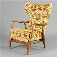 easy chair by eva and nils koppel