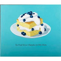 blueberry shortcake; four sweets (2 works) by julia jacquette