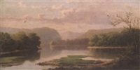 hudson river view by thomas addison richards