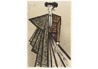 escamillo (costume ocre) by bernard buffet