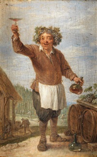 alegoría del otoño by david teniers the younger