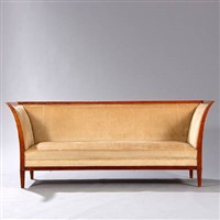 three-seater sofa by frits henningsen