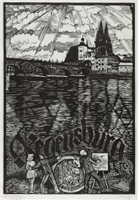 regensburg by conrad felixmüller