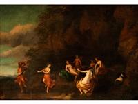 tanz der nymphen by cornelis van poelenburgh