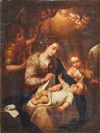sagrada familia by bartolomé esteban murillo