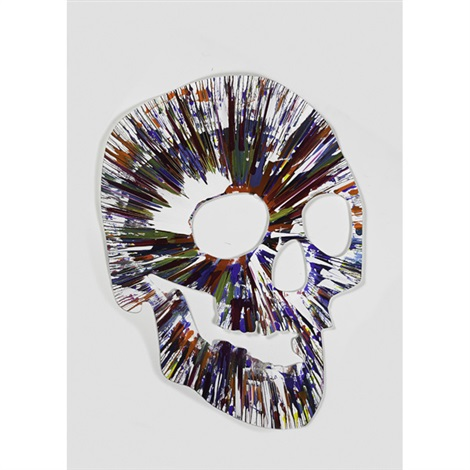 spin painting by damien hirst