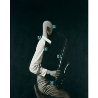 profile of the saxophonist by zhang peili