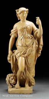 allegorical figure by gian lorenzo bernini