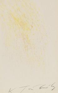 meta-matic no. 19 (gelb und blaßrot) by jean tinguely
