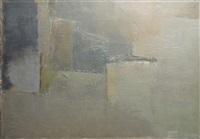 composition abstraite by alain de la bourdonnaye