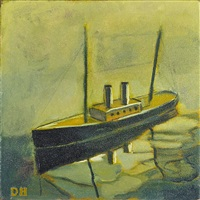 tin boat; puberty (2 works) by duncan hannah