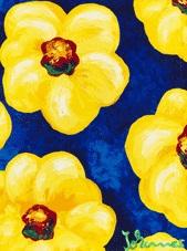 gelbe blüten by johannes adamski