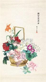 折枝花卉 by xue shushan