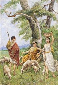 apollo tra i pastori by fabio fabbi