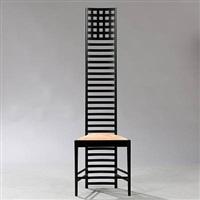 hill house 1 chair by charles rennie mackintosh