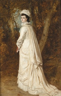 portrait of mary carrie by james archer