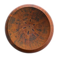 large turned bowl by ron kent