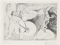 kvinnefigurer by pablo picasso