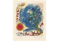 le paysan by marc chagall