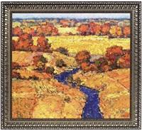 autumn fields by sergei patikovski