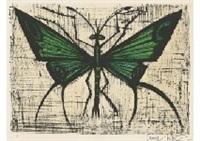 le papillon vert by bernard buffet