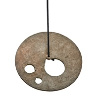 suspended sound gong (hb-b-220) by harry bertoia