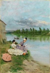 pesca sull'arno by fabio fabbi