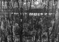 sonnenuntergang am bielersee by ernst müller-zwahlen
