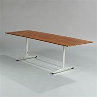 coffee table with shaker frame by arne jacobsen