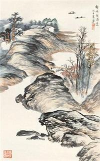 轻舟自得意 (the boating) by xiao yong