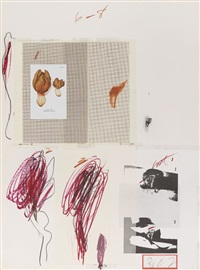 natural history part i, mushrooms (set of 10) by cy twombly