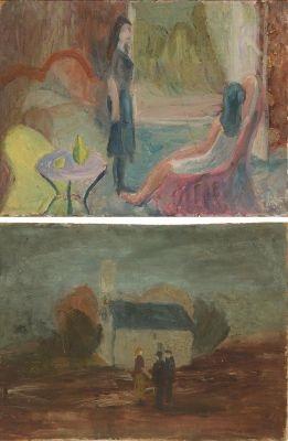 zwei mädchen kleines haus 2 works by alexander camaro