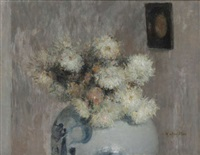 fleurs blanches by walter vaes
