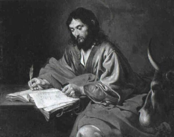 saint luke by jean valentin de boulogne