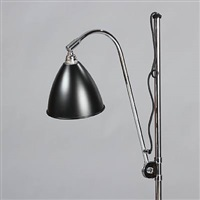 floor lamp base and shade (model bl-3) by robert dudley best