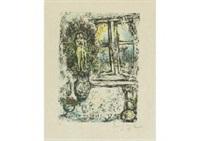 la fenetre entrouverte by marc chagall