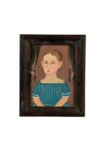 portrait of a child by william matthew prior