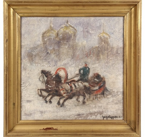 winter moscow by guy carleton wiggins