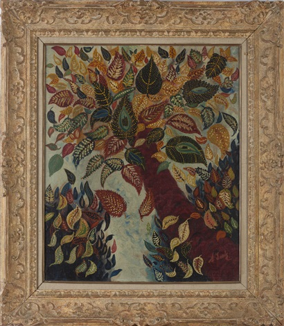 tree with autumn leaves by séraphine de senlis